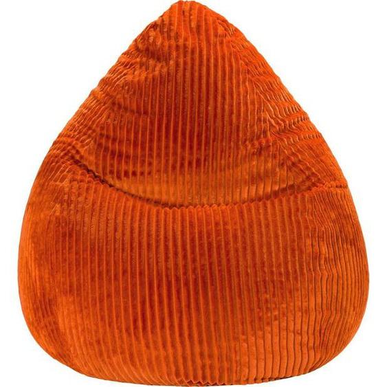 Sitting Point Sitzsack »BeanBag TESSA XL« (1 St), Kunstfell, orange