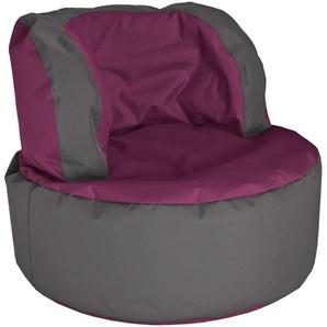 Sitting Point Sitzsack Bebop Scuba Aubergine