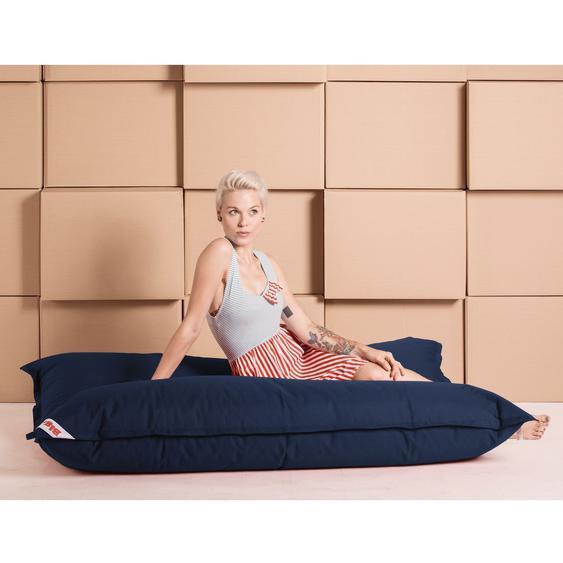 SITTING POINT Sitzsack Big Bag Brava Jeansblau Flachgewebe 125x155x20 cm (BxHxT)