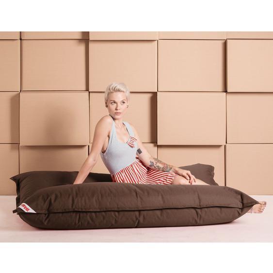 SITTING POINT Sitzsack Big Bag Brava XL Latte Macchiato Flachgewebe 130x170x20 cm (BxHxT)