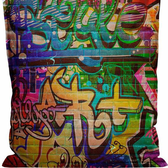 Sitting Point Sitzsack »BigBag Graffiti«, bunt