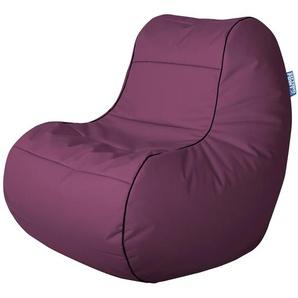 Sitting Point Sitzsack ChillyBean Scuba 300 l Aubergine