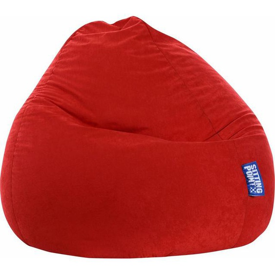 Sitting Point Sitzsack »EASY XXL«, rot