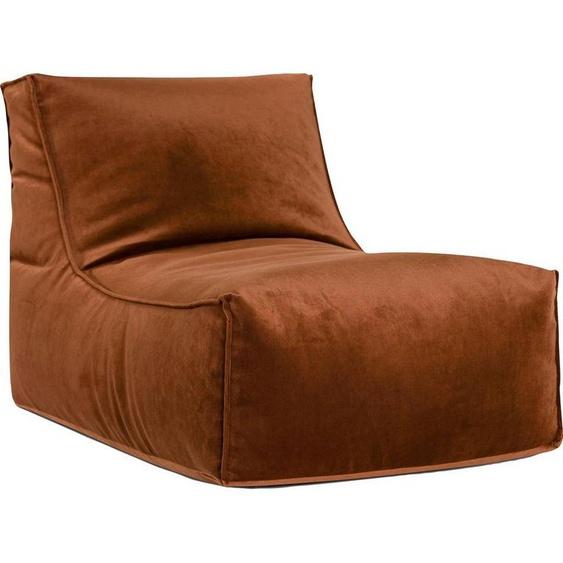Sitting Point Sitzsack »Rock VELUTO« (1 St), Samt, braun