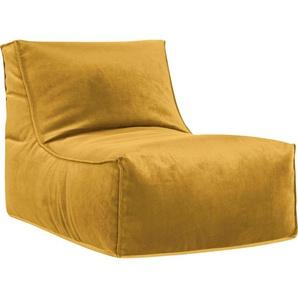 Sitting Point Sitzsack »Rock VELUTO« (1 St), Samt