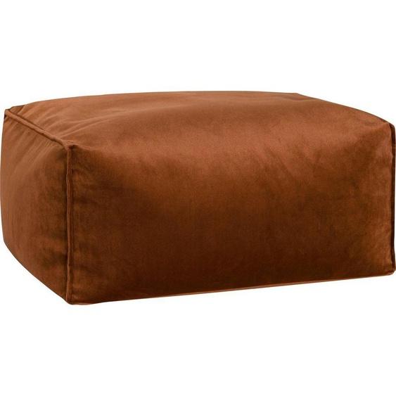 Sitting Point Sitzsack »Roll VELUTO« (1 St), Samt, braun