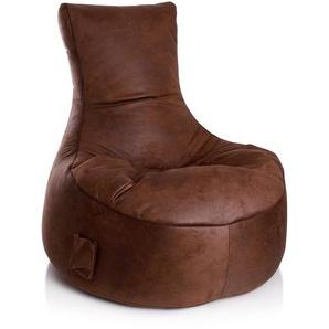 Sitting Point Sitzsack Swing Cuba Braun