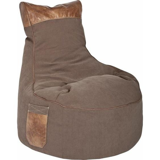 Sitting Point Sitzsack »Swing JAMIE«, braun