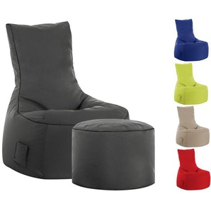 SITTING POINT Sitzsack »Swing SCUBA«, In- und Outdoor, wahlweise mit Hocker