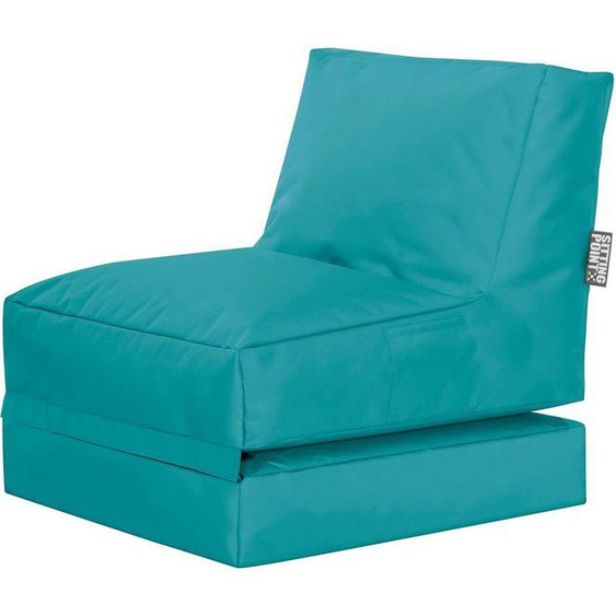 Sitting Point Sitzsack »Twist Scuba«, blau