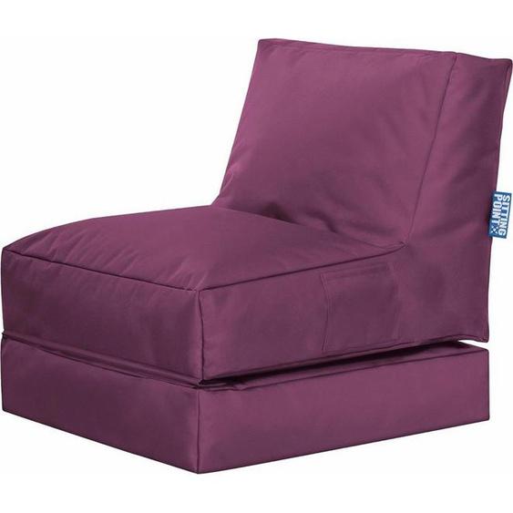 Sitting Point Sitzsack »Twist Scuba«, lila