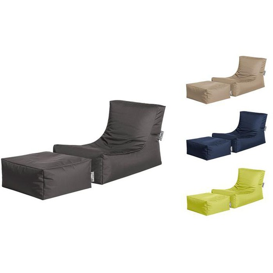 SITTING POINT Sitzsack und Relax-Liege »Funk Scuba«, inklusive Hocker, In- und Outdoor