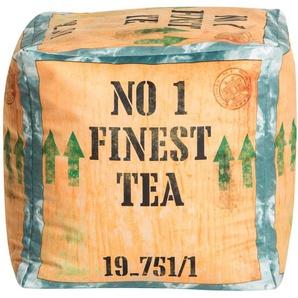 Sitting Point Sitzwürfel Cube Tea 60 l Beige