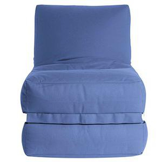 SITTING POINT Twist OUTSIDE Sitzsack blau