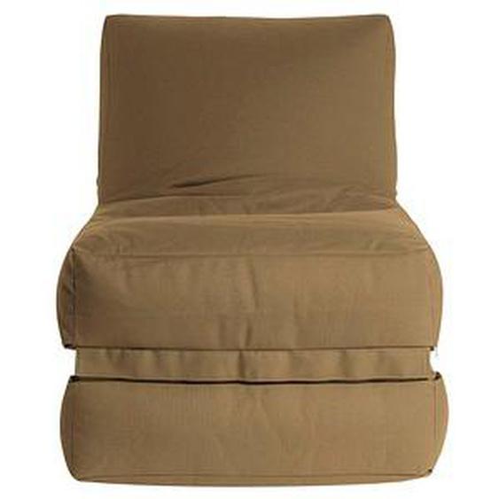 SITTING POINT Twist OUTSIDE Sitzsack braun