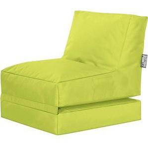 SITTING POINT Twist SCUBA Sitzsack grün