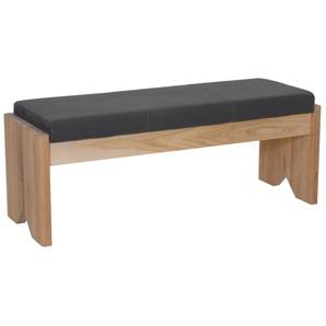 Sitzbank ohne Rücken in Eiche natur geölt