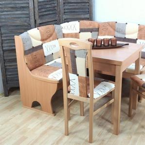Sitzbank , braun, zeitloses Design, »Madrid«, , , strapazierfähig, FSC®-zertifiziert,
