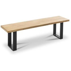 Sitzbank, Wildeiche, Holz