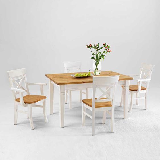Sitzgruppe im Landhausstil (5-teilig)