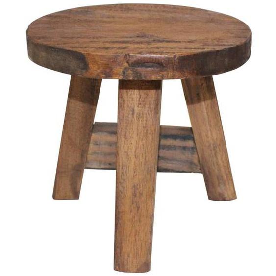 Sitzhocker Altholz