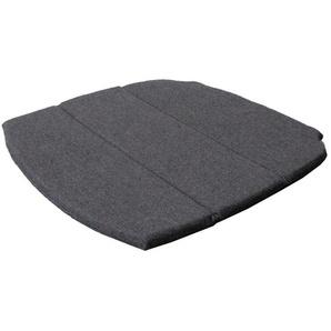 Sitzkissen für Breeze Stapelstuhl schwarz, 2x49x47 cm