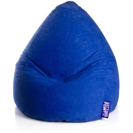 Sitzkissen in Blau XXL