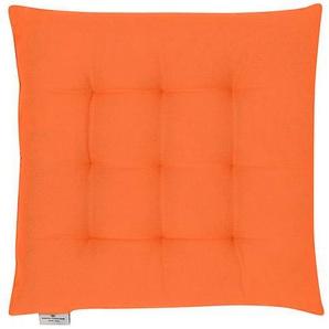 Sitzkissen T-Dove in orange 40x40cm