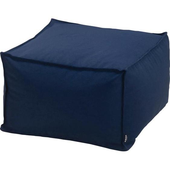 Sitzsack, B/T/H: 55x35x55 cm, blau »Blobby«, H.O.C.K.