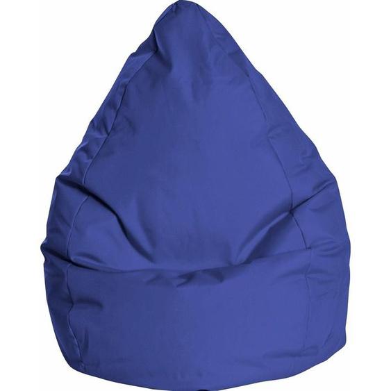 Sitzsack, B/T/H: 70x70x120 cm, blau, Material Polystyrol / Polyester »BRAVAL L«, Sitting Point