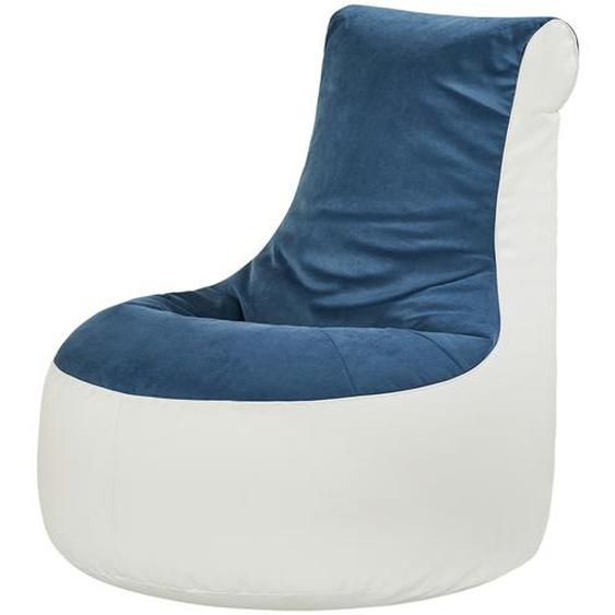 Sitzsack  Ben ¦ blau ¦ Maße (cm): B: 80 H: 86 T: 95