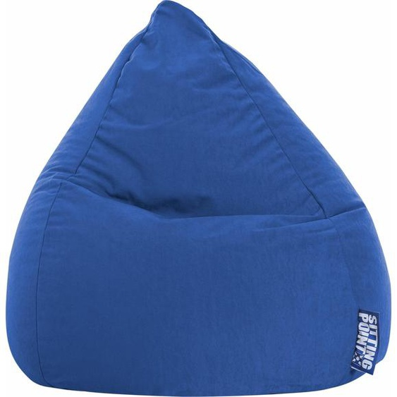 Sitzsack, blau, Material Polystyrol / Polyester »EASY L«, Sitting Point