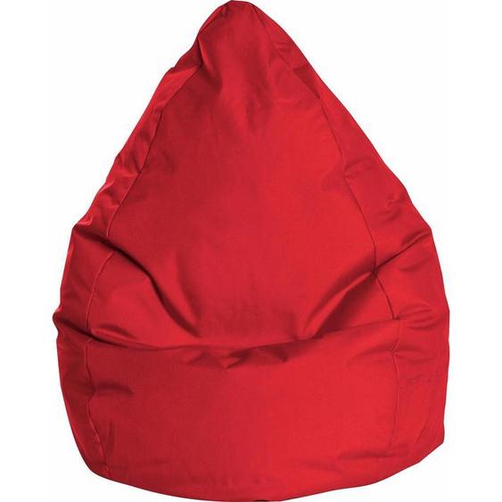 Sitzsack »BRAVA XL«, rot, Material Polystyrol / Polyester, Sitting Point