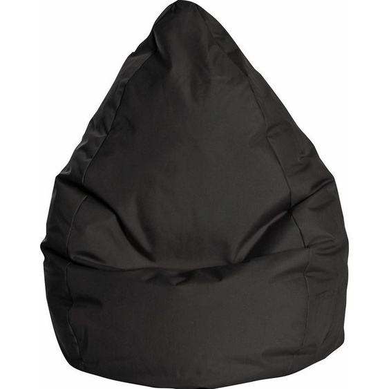 Sitzsack »BRAVA XXL«, schwarz, Material Polystyrol / Polyester, Sitting Point