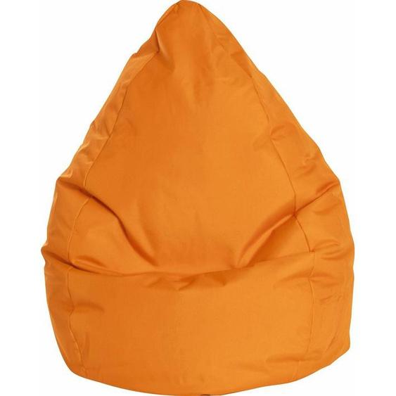 Sitzsack »BRAVAL L«, B/T/H: 70x70x120 cm, orange, Material Polystyrol / Polyester, Sitting Point