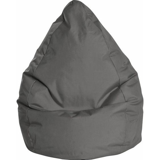 Sitzsack »BRAVAL L«, B/T/H: 70x70x120 cm, schwarz, Material Polystyrol / Polyester, Sitting Point