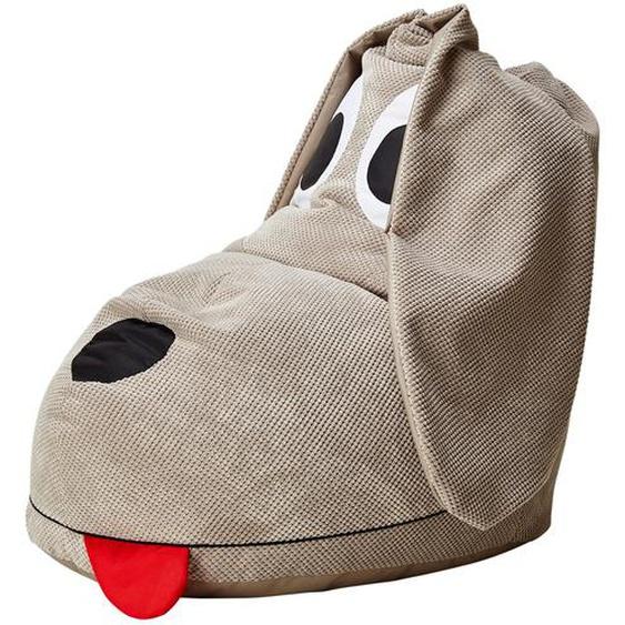 Sitzsack  Dog   beige   93 cm   60 cm   85 cm  