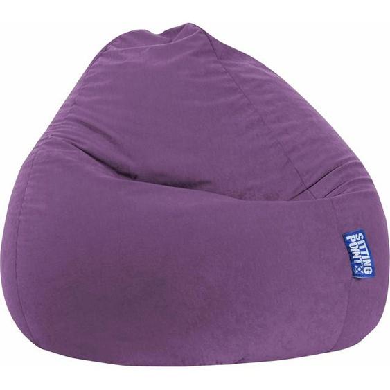 Sitzsack »EASY XXL«, lila, Material Polystyrol / Polyester, Sitting Point
