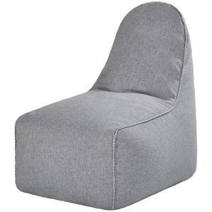Sitzsack  Fay ¦ grau ¦ Maße (cm): B: 80 H: 90 T: 60