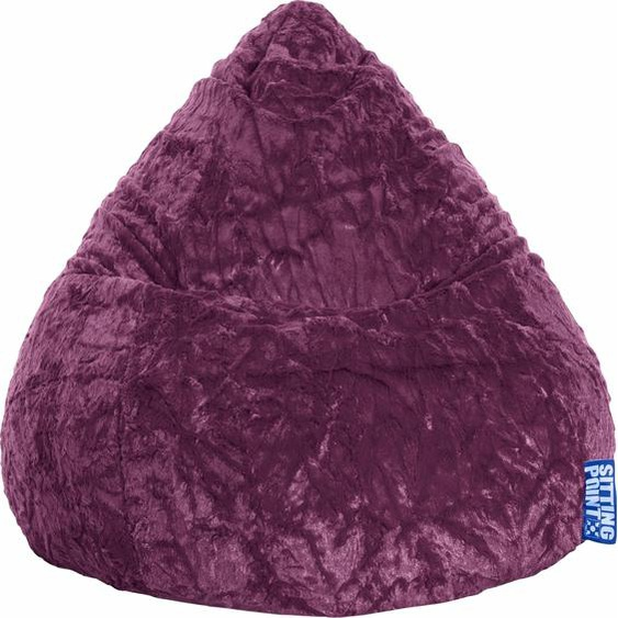 Sitzsack »Fluffy XL«, lila, Material Polystyrol / Polyester, Sitting Point