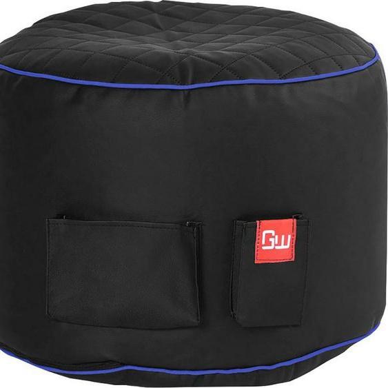 Sitzsack »Gaming Sitzsack«, 2 seitliche Taschen, schwarz