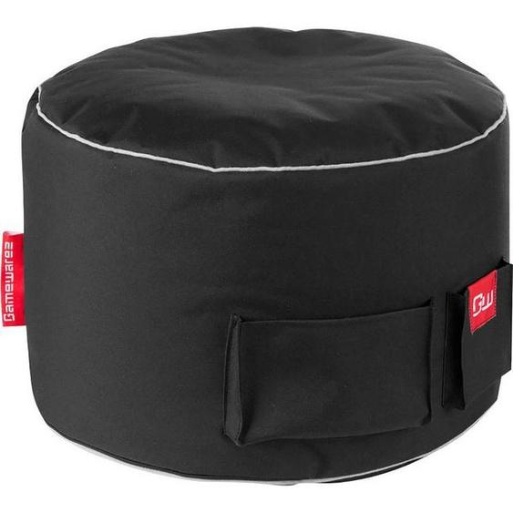 Sitzsack »Gaming Sitzsack«, 2 seitlichen Taschen, schwarz
