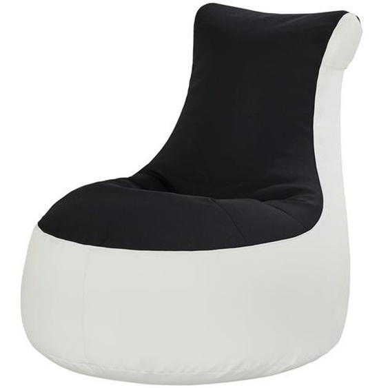 Sitzsack  Meg   schwarz   80 cm   86 cm   95 cm  