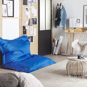 Sitzsack mit Innensack für In- und Outdoor 140 x 180 cm blau
