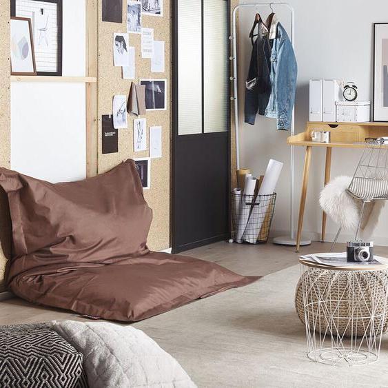 Sitzsack mit Innensack für In- und Outdoor 140 x 180 cm braun