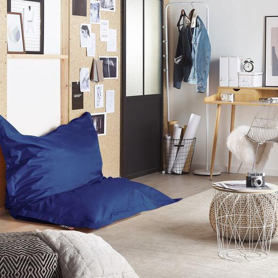 Sitzsack mit Innensack für In- und Outdoor 140 x 180 cm dunkelblau