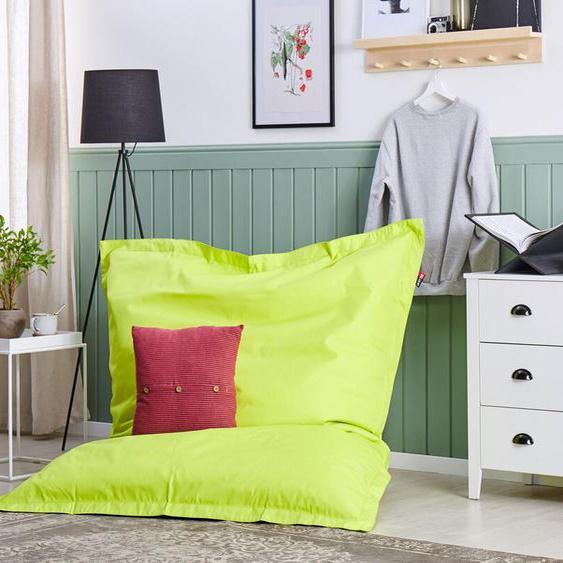 Sitzsack mit Innensack für In- und Outdoor 140 x 180 cm grün