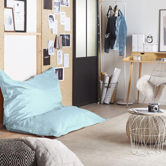 Sitzsack mit Innensack für In- und Outdoor 140 x 180 cm hellblau