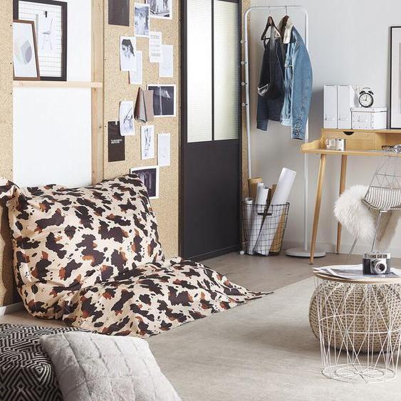 Sitzsack mit Innensack für In- und Outdoor 140 x 180 cm Kuh-Design