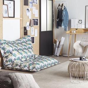 Sitzsack mit Innensack 140 x 180 cm Pflanzen-Design